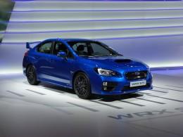 AUTOSALON ŽENEVA 2014 - Subaru ukázalo nové WRX STi a koncept VIZIV2