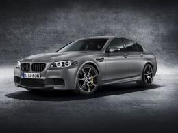 BMW M5 slaví třicetiny speciální edicí