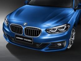 BMW řady 1 jako sedan zatím jen pro Čínu