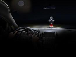 Buďte vidět, české silnice se noří do tmy