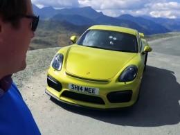 Cayman GT4 na střeše Evropy!
