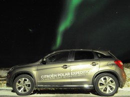 Český Citroën C4 AIRCROSS dorazil na polární kruh
