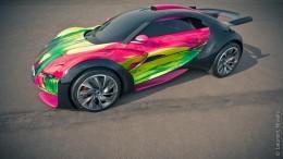 Citroën představuje Citroën survolt ve verzi artcar