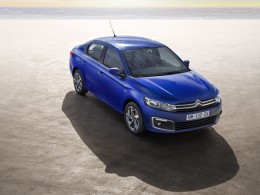 Citroën C-Elysée dostal nový nos a zadní světla s 3D efektem