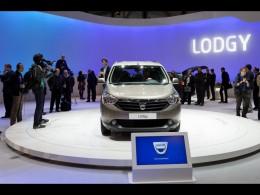 Dacia Lodgy na ženevském autosalonu živě