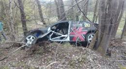 Daniel Landa měl hrozivě vypadající nehodu