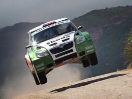 Fantastick� �sp�ch Fabie na Rally Argentina