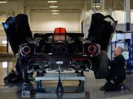 Ford zahájil výrobu nového supersportovního modelu Ford GT