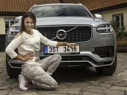 Golfistka Klára Spilková jezdí Volvem již šestým rokem