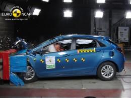 Hyundai i30 - pět hvězdiček v Euro NCAP