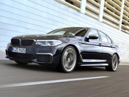 Máme radost, BMW M550i s osmiválcem pod kapotou je realitou