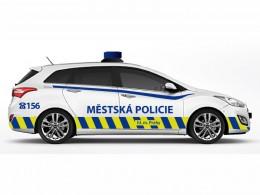 Městská policie v Praze kupuje čtyřicet vozů i30 kombi