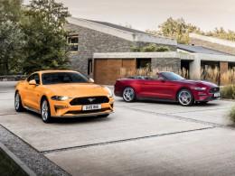 Omlazený Ford Mustang má stále osmiválec a nově 10stupňový automat