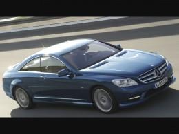 Modernizovaný Mercedes CL umí čelit i bočnímu větru!