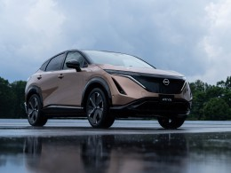 Nissan Ariya jezdí na elektřinu, má 400 koní a zdolá 483 kilometrů na jedno nabití