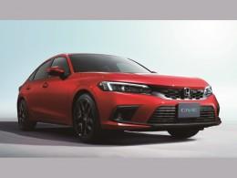 Nová Honda Civic představena na prvních fotografiích