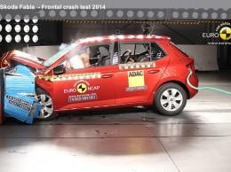 Nová Škoda Fabia je nejbezpečnějším vozem ve své třídě