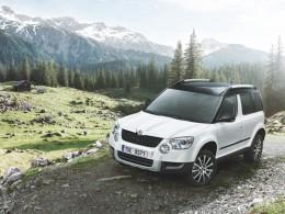 Přijíždí Škoda Yeti Mont Blanc za půl mega