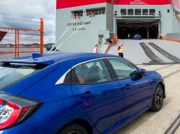 Nový hatchback Honda Civic míří do Států