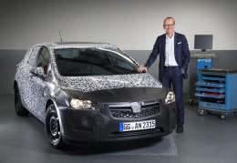 Nový Opel Astra bude lehčí a hospodárnější