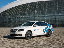 Olympijská atmosféra v Praze s podporou Škoda Auto