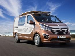 Opel Vivaro Surf Concept: Lifestylový van pro sportovce