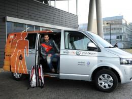 Petr Koukal převzal Volkswagen Caravelle