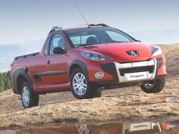 Peugeot Hoggar: Pick-up na bázi 207