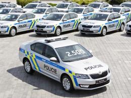 Policie �R po��dila dal��ch 85 voz� �koda Octavia