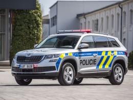 Policisté budou mít nová auta - Škody Kodiaq s motorem 2.0 TSI