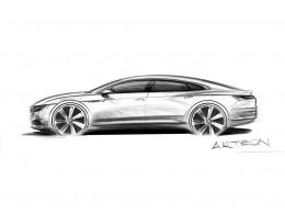Prémiový fastback Volkswagen Arteon se představí v Ženevě