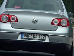 Prvních tisíc vozidel s registračními značkami na přání již jezdí