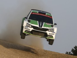 Rallye It�lie: T�et� m�sto v kategorii WRC 2 pro Jana Kopeck�ho s vozem �koda Fabia R5