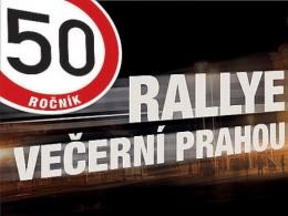 Rallye Večerní Prahou již tuto sobotu