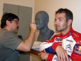 Sébastien Loeb skončil v muzeu voskových figurín