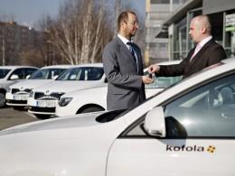 Škoda dodá 400 vozidel Kofole