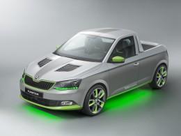Škoda FUNstar - učňovský koncept pickupu se ukáže u jezera Wörthersee