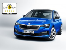 Škoda Scala získala v testech Euro NCAP nejvyšší možné hodnocení