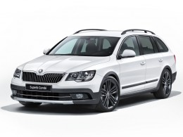 Škoda Superb Combi dostala paket Outdoor