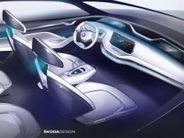 Elektrické SUV od Škody dostane pět displejů