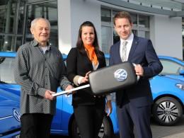 Společnost PRE převzala 7 elektromobilů e-up!