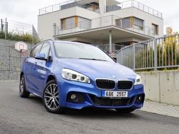 Test: BMW 218d Xdrive - rodinný vůz s geny sportovce