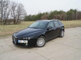Test ojetiny: Alfa Romeo 159 - temperamentní italka