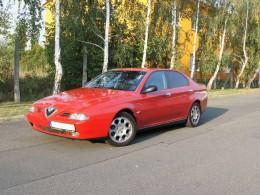 Test ojetiny: Alfa Romeo 166 – křižník s výjimečným motorem