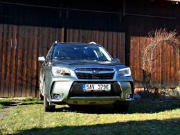 Test: Subaru Forester 2.0 XT - létající lesník