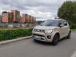Test: Suzuki Ingis 1.2 DualJet 4x4 Hybrid - prcek, co se nezdá