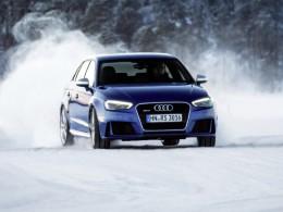 Video: Audi RS 3 Sportback dovádí na sněhu ve Finsku