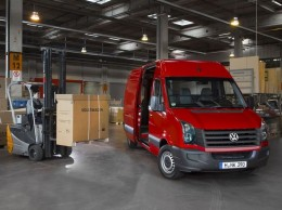 Volkswagen Crafter se chlubí nejmenším počtem závad