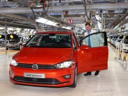 Volkswagen Golf Plus a Golf Sportsvan slaví milionové jubileum