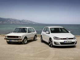 Volkswagen Golf slaví čtyřicátiny